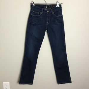 7 For All Mankind Kimmie Skinny Leg Jeans Size 24